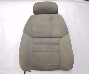 1994-1998 Mustang Front Bucket Seat Back with Headrest - Tan Cloth - Driver