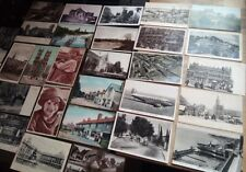 30 x old postcards various inc' real photo RP, topographical, nice job lot!