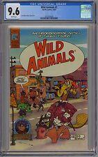 Wild Animals #1 CGC 9.6 NM+ Wp PC Comics 1982 Scott Shaw Story & Art Satire