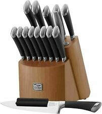 Chicago Cutlery Stainless Steel Fusion 17 Piece Knife Block Set