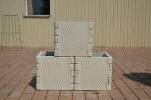 Schalungsform Gießform Betonform Plastikform Säule & Kolonne Gartenschutz #F09
