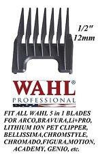 """Wahl 1/2""""(12mm) Attachment GUIDE 5 in 1 Blade COMB-Arco,Chromado,Bravura Clipper"""