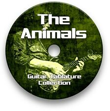 The Animals Rock Guitar Tab Tablature Lesson Software CD, Guitar Pro