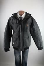 Rocawear schwarz-graue Winter-Jacke Größe XL Wollmischung Top Zustand
