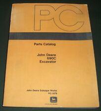 John Deere 690C Escavatore Ricambi Manuale Libro Catalogo
