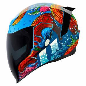 Icon Airflite Inky Helmet Size XL Blue