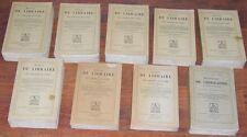 Brunet MANUEL DU LIBRAIRE complet 9 t. table supplément dictionnaire géographie