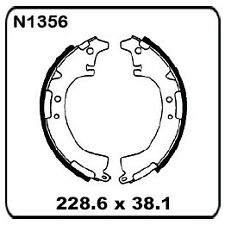For Toyota Corolla KE38 Wagon With PBR 8/1978-82 REAR Drum Brake Shoe SET N1356