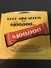 "NESTLE $100,000 BAR PROMO 33 1/3 RPM 7"" - Cheap Trick/REO/Journey/Molly Hatchet"