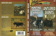 Hunting Trophy Caribou Antlered Giants Moose 2 Films on 1 DVD NEW