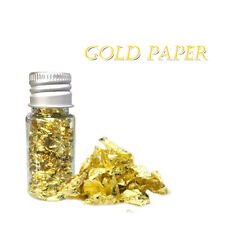 10ml Edible Gold Leaf Mask Decoration Authentic Gold Foil Cooking Cake And Choco