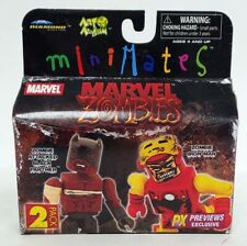 DST Marvel Minimates Marvel Zombies Black Panther and Iron Man 2 Pack MIB