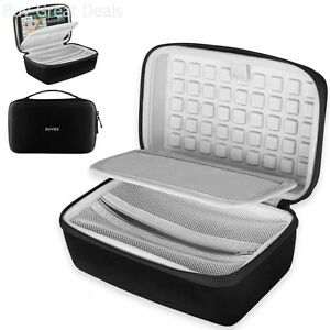 GPS Navigation Travel Bag Hard EVA Carrying Case Storage 6-7 Inch Black New