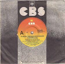 "Placido Domingo and John Denver - Perhaps Love - 7"" single"