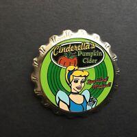 Princess Bottle Cap Series Cinderella's Pumpkin Cider Disney Pin 25530