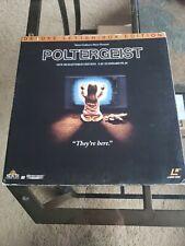 Poltergeist laserdisc Deluxe Letterbox CAV, 3 disc  Edition