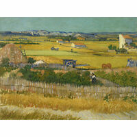 Vincent Van Gogh De Oogst Extra Large Art Poster