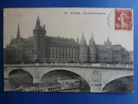LOT 9141 TIMBRES STAMP CARTES ANCIENNES FRANCE ANNEE 1910