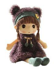 HWD Lovely Huggable 17 inch Stuffed Plush Girl Toy Doll.Good Gift For kids baby