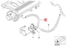 Genuine BMW E38 E39 E46 E53 E60 E60N E61 E65 Blue Vacuum Hose OEM 11657796879