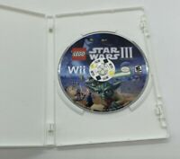 Lego Star Wars 3 Clone Wars Nintendo Wii Game Disc Only