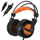 Sades A6 Stereo 7.1 Surround Pro Gaming Headphone USB Headband PC Notebook w/Mic