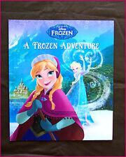 DISNEY FROZEN - A FROZEN ADVENTURE STORY BOOK /  ELSA ANNA Colour Pages - New