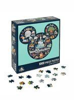 Disney Parks Life Mickey Mouse Icon Walt Disney World Map Puzzle New Sealed