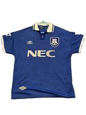 Everton Home football shirt jersey 1993 1995 UMBRO retro Vintage rare