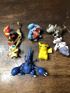 Lot of 7 TOMY Nintendo Pokemon PVC mini figures B