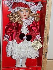 DanDee Soft Expressions Porcelain Doll 17 Inch Special Edition