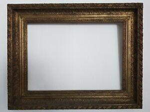(L) antiker Bilderrahmen Rahmen f. Ölbild um 1850 FM  48,3 x 66,5 cm