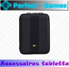 "Housse etui protection iPad Samsung galaxyTab tablettes 10"" caseLogic noir black"