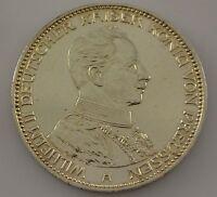 3 Mark Silber Silbermünze Wilhelm II. Deutscher Kaiser König von Preussen 1914 A
