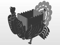 DXF file CNC Plasma Laser cutting Turkey BBQ GRILL