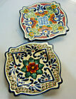 Talavera Pottery Small Hanging plate Signed By AL