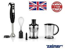 ~ NEW Electric Kitchen ZELMER Hand Blender 1304 ice crusher whisk food