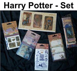 Harry Potter Set Puzzle Sticker Sparklers Film Sticker Motif Fan
