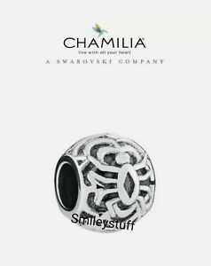 🕷🕸 Genuine CHAMILIA 925 Silver HALLOWEEN Tangled Web SPIDER Charm RRP £30