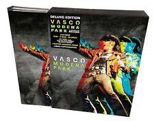 VASCO ROSSI - VASCO MODENA PARK DELUXE EDT. -3 CD+2 DVD + Bluray NUOVO SIGILLATO