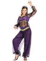 Harem Princess Jasmine Genie Aladdin Arabian Book Week Girls Costume L