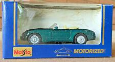 Green Maisto Mg Rv8 Motorized Diecast Model No. 21001