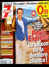 TELE 7 Jours Magazine 18/04/2009; Pékin Express/ Lorie/ France Gall/ Doutey M.