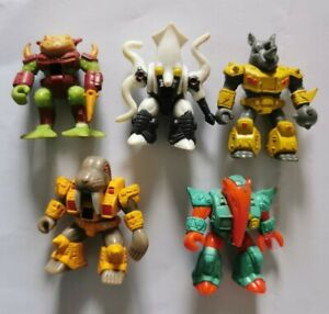 Lot 5 figurines DRAGONAUTES battle beasts laser beast beastformers HASBRO TAKARA