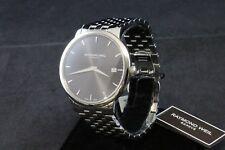 Raymond Weil Toccata Black Dial Steel Bracelet Men's Watch 5588-ST-20001 NEW