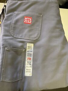 NWT Carhartt FR Flame-Resistant Duck Bib Overall Quilt Lined Men's 50 X 30 HRC4