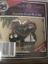 Mill Hill Beaded Cross Stitch Kit Holiday Ornaments VI Santa's Sack H72