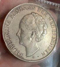 Netherlands 2 1/2 Gulden 1938