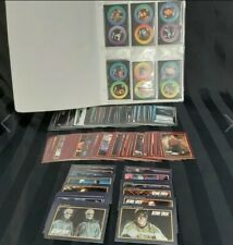 Star Trek and TNG collector cards and Stardiscs