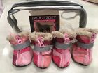 Zack & Zoey PINK Camo Oxford Dog Boots PINK -XSmall - Camo Oxford Dog Boots Used